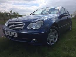 2005 mercedes benz c class w203 c200 2 1 cdi elegance se auto blue