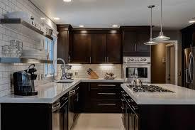 Cool Contemporary Dark Wood Kitchen Cabinets Dark Wood Kitchen - Dark wood kitchen cabinets