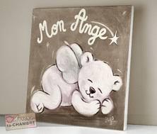 tableaux chambre bébé tableau nounours pour déco de chambre d enfant bébé vente de