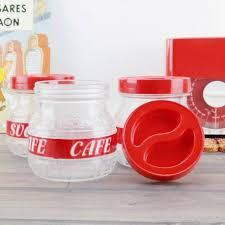 plastique cuisine bocaux de cuisine vintage verre et plastique ées 1960 thé