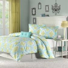 bedroom lilly pulitzer bedding sets with blue wall plus