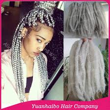grey marley braid large stock 20 fold silver grey synthetic kinky twists afro
