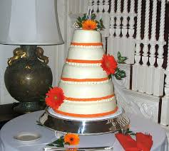 orange gerbera daisy wedding cake this is marcela felix u0026 u2026 flickr