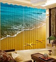 buy starfish curtains and get free shipping on aliexpress com