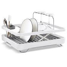 amazon com kohler large collapsible u0026 storable dish drying rack