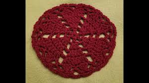 heart doily easy heart doily crochet tutorial