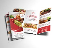 Tri Fold Program Restaurant Menu Tri Fold Brochure Brochure Templates Creative
