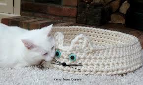 Cat Bed Pattern Cat Bed Crochet Pattern U2013 Kerry Jayne Designs