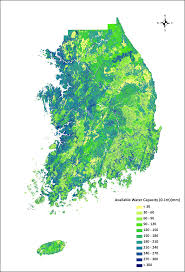 Soil Maps Predicting And Mapping Soil Available Water Capacity In Korea Peerj
