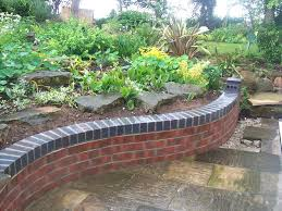Garden Brick Wall Design Ideas Small Garden Wall Ideas Garden Brick Wall Design Ideas Patio