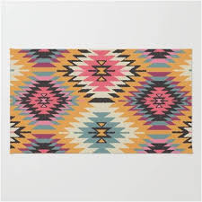 tribal print native american indian inspired area rug u2013 western