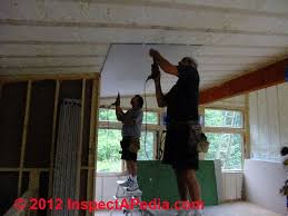 How To Hang Drywall On Ceiling By Yourself by How To Install Drywall How To Hang U0026 Tape