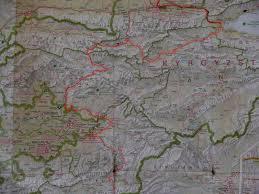 Bishkek Map Cycling High Asia Kyrgyzstan Bishkek To Jalahabad Incomplete