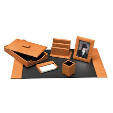 Orange Desk Accessories by Office Desk Accessories For Men