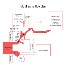 Mgm Grand Floor Plan Las Vegas Schedule And Layout