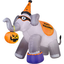 inflatable spider halloween gemmy airblown inflatable 9 u0027 x 11 u0027 giant elephant halloween