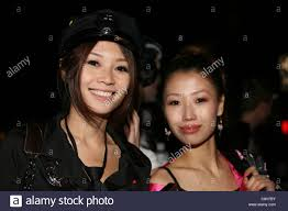 asian girls attend halloween parade in greenwich village new york