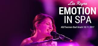 Albthermen Bad Urach Konzert Albthermen Nacht Bad Urach Emotion In Spa Mit Lia Reyna