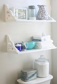 shelving ideas for bathrooms best 25 bathroom wall shelves ideas on bathroom wall
