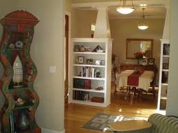 endearing curtains living room as room divider also ideas