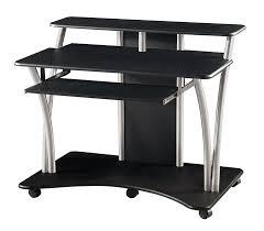 pc desk design small black corner desk black computer desk design with small black