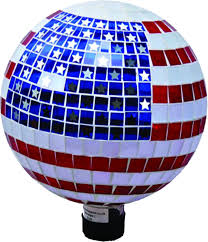 a patriotic stars u0026 stripes gazing globe home decor hub