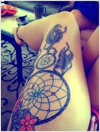 best 25 cute thigh tattoos ideas on pinterest upper thigh