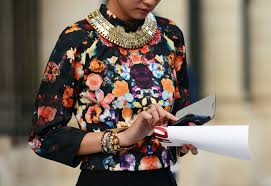 style statement necklace images Are statement and chunky chain necklaces still trending nolita jpg