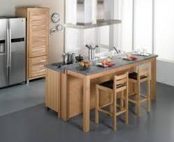 modele cuisine avec ilot central table la cuisine ouverte avec lot conforama avec ilot