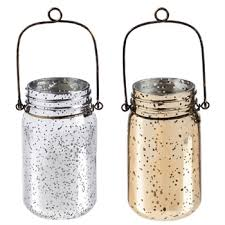 mercury glass string lights gold mercury glass mason jar with string lights miche designs and