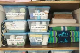 Bathroom Linen Closet Ideas Super Organized Bathroom Linen Closet Heartworkorg Com Towels In
