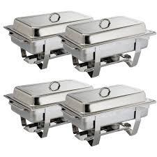 milan chafing dish special offer pack of 4 olympia chafing