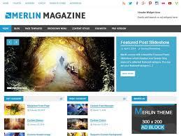 colors home page merlin u2014 free wordpress themes