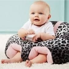 Chair For Baby To Sit Up Hugaboo Baby Plush Snow Leopard Sitting Chair Toy Learning Chair