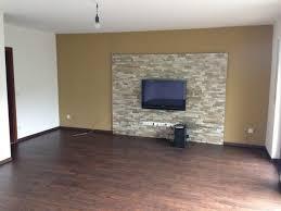 steinwand wohnzimmer platten haus renovierung mit modernem innenarchitektur schönes