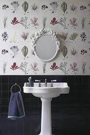 bathroom wallpaper ideas uk sea plants bathroom ideas wallpaper ideas houseandgarden co uk