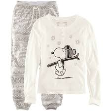 image result for snoopy sleeve warm pjs pajamas