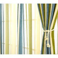 Green Striped Curtains Modern Chenille Blackout Blue Olive Green Striped Curtains Olive