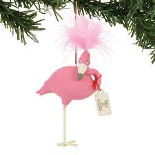 snowpinions flamingo ornaments pretty in pink flamingo ornament