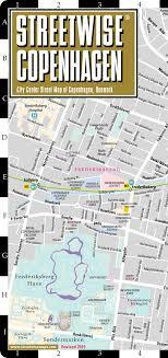 map of copenhagen streetwise copenhagen map city center map of copenhagen