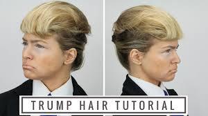 donald trump hair tutorial youtube