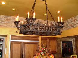Outdoor Wrought Iron Chandelier by Majestic Wrought Iron Chandelier Create Rustic Feel Wearefound