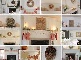 fireplace mantel decorating ideas for the whole year lehman