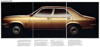 vauxhall victor auto brochures