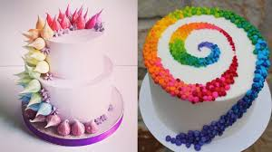 birthday cakes top 20 easy birthday cake decorating ideas oddly satisfying cake
