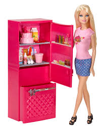 Barbie Doll Refrigerator