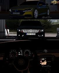 volkswagen polo modified interior volkswagen cc arteon interior v2 0 1 28 x download ets 2