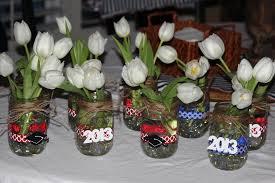 centerpiece ideas for graduation party graduation table