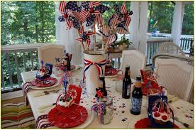 patriotic decorations patriotic table decorations the home design some ideas for