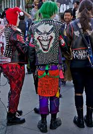 the joker and harley quinn halloween costumes punk joker and quinn cosplay pinterest joker punk and cosplay